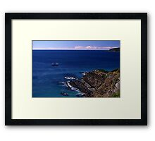 Sea View, Forster, New South Wales, Australia 2000 Framed Print