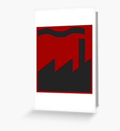 Factory Records Greeting Card