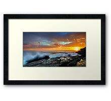 The Salida del Sol Framed Print