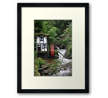 Waterwheel House Framed Print