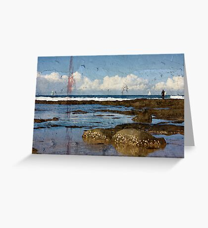 Tranquil Seascape Greeting Card
