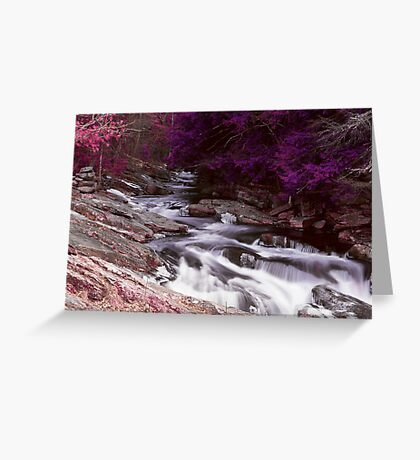 La riviere rouge Greeting Card