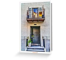 HDR Neve Tzedek House  Greeting Card