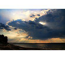 Shooting Rays Photographic Print