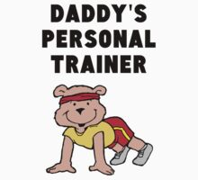 Daddy's Personal Trainer One Piece - Short Sleeve