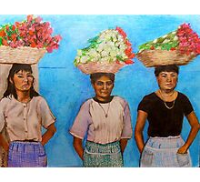 Flores Photographic Print