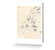 setting the world on fire Greeting Card