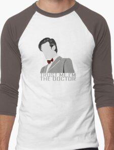 Trust Me,I'm The Doctor Men's Baseball ¾ T-Shirt