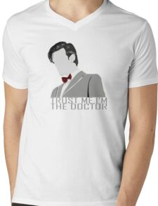 Trust Me,I'm The Doctor Mens V-Neck T-Shirt