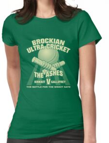 The Battle for the Wikkit Gate Womens Fitted T-Shirt