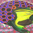 frog vs circles by perggals