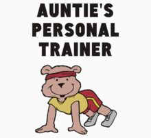 Auntie's Personal Trainer One Piece - Short Sleeve
