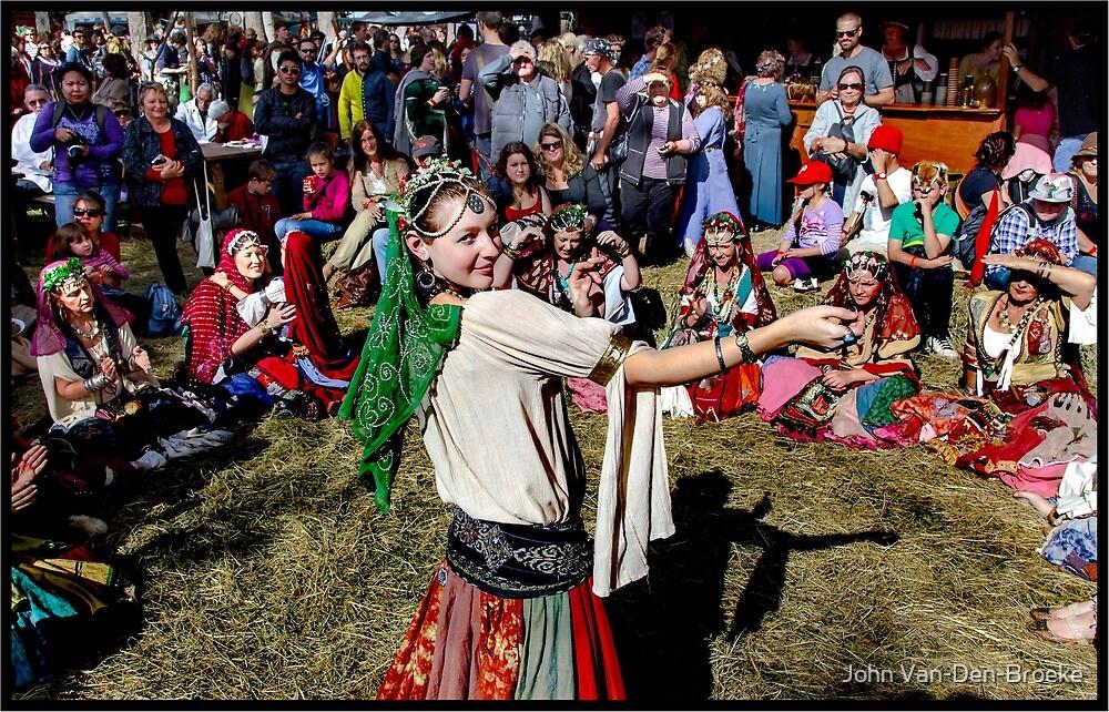 Abbey Medieval Festival 2 by John Van-Den-Broeke