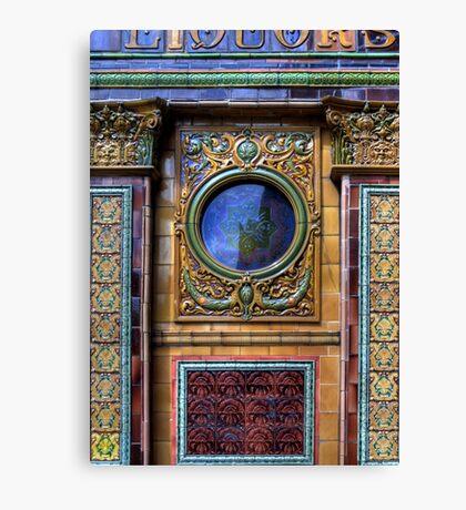 Crown Liquor Saloon - Window Canvas Print