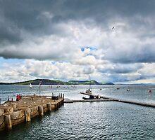 Stormy July ~ Lyme Regis by Susie Peek