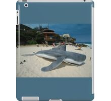 Beached Submarine Life @ Sculptures By The Sea iPad Case/Skin