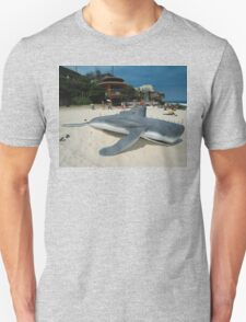 Beached Submarine Life @ Sculptures By The Sea T-Shirt
