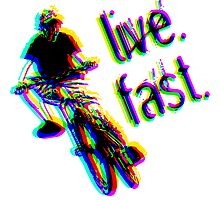 live. fast. airborne jump bike by cybertype