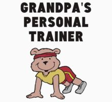 Grandpa's Personal Trainer One Piece - Short Sleeve