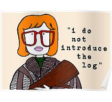 i do not introduce the log Poster