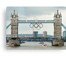 Tower Bridge 2012 Canvas Print
