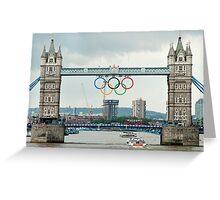 Tower Bridge 2012 Greeting Card