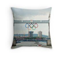 Tower Bridge 2012 Throw Pillow