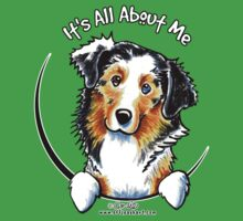 Australian Shepherd :: It's All About Me by offleashart