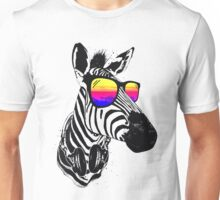 Cool Zebra Unisex T-Shirt