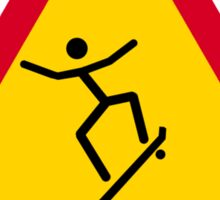 Skate or not! Sticker