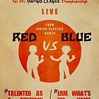 Red VS Blue by Josh Clark