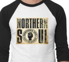 Northern Soul (Gold) Men's Baseball ¾ T-Shirt