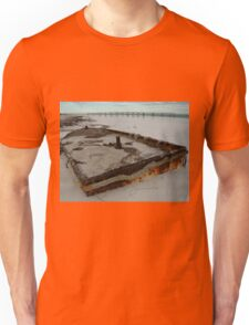 Eucla, Western Australia - shipwreck & wharf Unisex T-Shirt