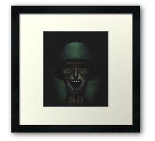 Soldiers never die! Framed Print