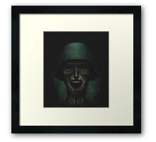 Soldiers never die! Framed Print