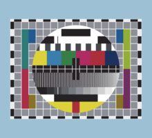 TV transmission test card by cybertype