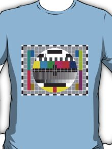 TV transmission test card T-Shirt
