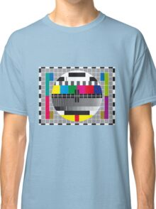 TV transmission test card Classic T-Shirt