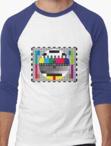 TV transmission test card Men's Baseball ¾ T-Shirt