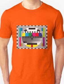 TV transmission test card Unisex T-Shirt