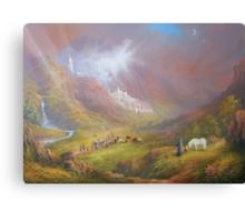 Minas Tirath (War Approaches) Canvas Print