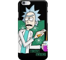 Rick & Morty - Because Science! iPhone Case/Skin