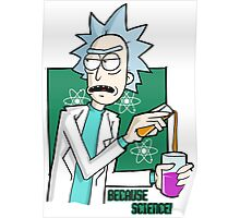 Rick & Morty - Because Science! Poster