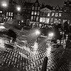 Traffic hour in Amsterdam by Pim Kops