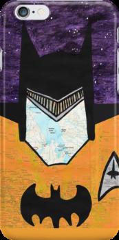 Batman as Geordi La Forge by jerasky