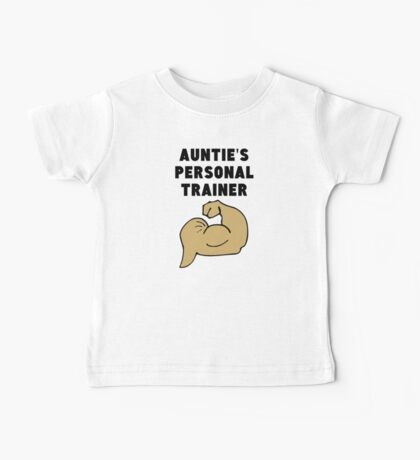 Auntie's Personal Trainer Baby Tee