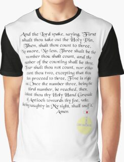 The Holy Hand Grenade of Antioch Graphic T-Shirt
