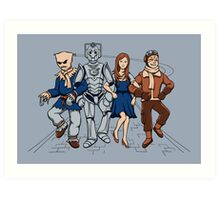 Wizard of Who Art Print