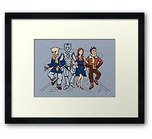 Wizard of Who Framed Print