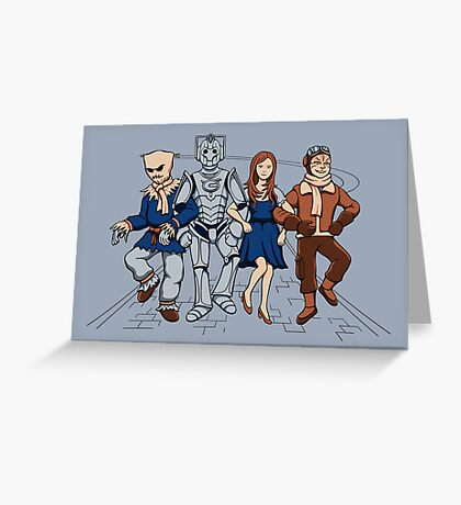 Wizard of Who Greeting Card